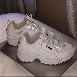 Fila shoes whit worn once